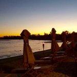 Stunning sunset at breakas beach resort