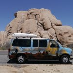 met campervan een roadtrip door South-West USA