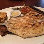 Delicious Wood grilled Rainbow Trout!