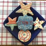 Cookies decorated for the 4th!