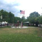 The beautiful Buffalo Canal Side Park