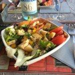 Salade au goudoulet