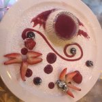 Panna Cotta with Berry Coulis