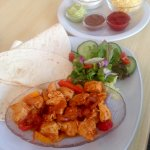 Mexican Chicken Fajitas from our evening menu