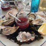 Les huîtres délicieuses 😆