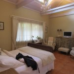 Delaportes suite was very tastefully decorated and maintained.