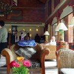 Lobby of Gokarna resort