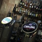 Ice Cold Carling & Cobra On Draught