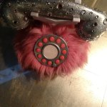pick up the pink furry phone to go to the marlowe's BBQ restaurant