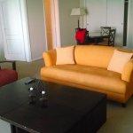 Salón Social de la suite en Hotel Xelena, El Calafate Arg.