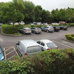 Travelodge Car Park when it was quiet