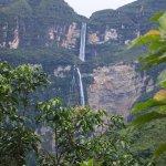Otra vista de la catarata Gocta.
