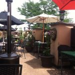 the patio at Jalapenos