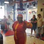 A block away from ifly... Had a blast!