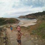 The walk is quite steep down to Stump Beach.