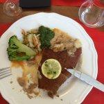 Cordon Bleu de veau au Munster ( frites à part )