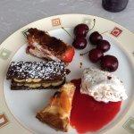 extraits du chariot de desserts