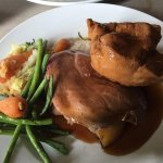 That is the Sunday roast including the veg