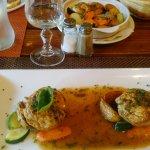 Lapin avec légumes et pomme de terre (plat)