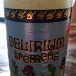 Delirium Tremens, great beer tiny 10 oz bottle