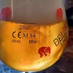 Delirium Tremens Glass