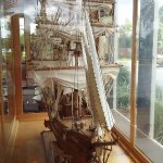 Over-sized model sailing ship in the lobby was a nice touch. The kid in me thought it was very c