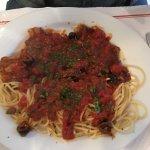Escalope à l'Italienne et ses pâtes
