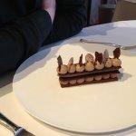 Chocolate / praline dessert