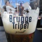 La bière locale à boire sur la place du marché au soleil ;-)