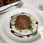 Black pudding Fritter