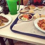 Antipasto a buffet, primo, secondo e contorno a scelta dal Menu