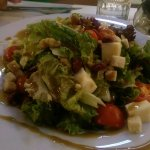 Fresh salad with greens and dry fruits!!!!!