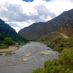 Low grade river crossing