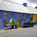 This is another view of the outside of O'Connor's Guesthouse.