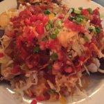 Shrimp & Crab Nachos - generous everything!