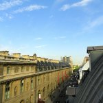View from my room, looking at the Louvre Museum.