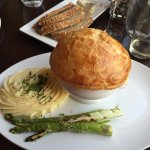 Seafood pot pie in Aqua Star