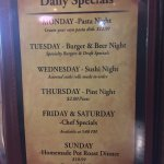 daily specials July 2016