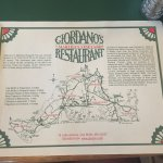 The placemat. While you are waiting for your food, get familiar with the island!