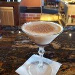 Dessert tiramisu martini, yummy!