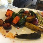Tandoori vegtables.