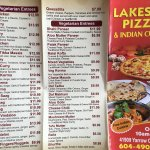 Lakeside pizza and indian Cuisine
