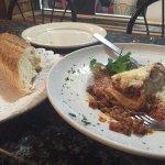 Lasagna: Approximately $13
