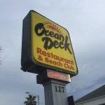 Foto de Ocean Deck Restaurant & Beach Club