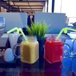 The best beginning of the day with the fresh and healthy juices