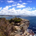 From North Head looking back at The Northern Beaches
