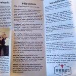 Info on restaurant