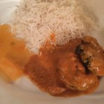 rice and butter chicken