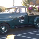 The Black Bear Diner's 1953 Chevy truck in Madras