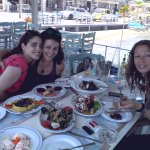 Having a great lunch with friends